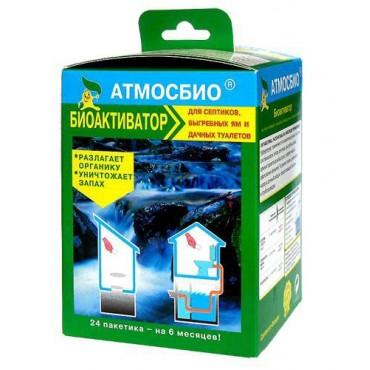 Биоактиватор для септиков Атмосбио, нового поколения, 600г