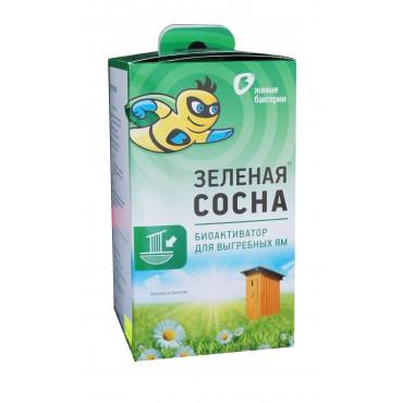 Биоактиватор Зеленая Сосна 300 для дачных туалетов и биотуалетов