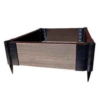 Высокая грядка из ДПК Еврогрядка™ Standart 4500х750мм h-150