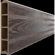 Доска для грядок из ДПК (глянец + тиснение 3D), 3000х30х155мм с замком