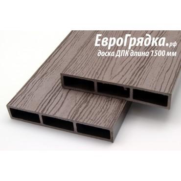 Доска из ДПК для грядок Еврогрядка™ Стандарт, ДхШхВ 1500х150х25мм