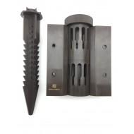Стыковочный элемент Еврогрядка™ Standart Plus 140, для высоких грядок из ДПК