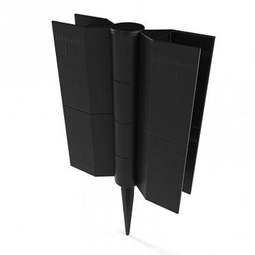 Шарнирный стыковочный элемент Еврогрядка™ Standart h-150, для грядок из ДПК