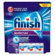 Таблетки для посудомоечной машин Finish Quantum, 40 шт