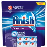 Таблетки для посудомоечной машины Finish Quantum, 80 шт