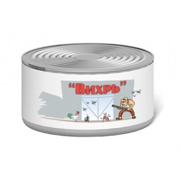 Инсектицидная дымовая шашка Вихрь, 200гр (от мух, комаров, вшей, клопов, куриного и иксодового клеща)