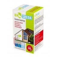 """Биоактиватор """"BIOSREDA"""" для септиков и автономных канализаций, 300 гр 12 пакетиков"""