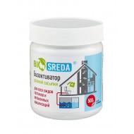 """Биоактиватор """"BIOSREDA"""" для септиков и автономных канализаций, разовой засыпки 500 гр"""