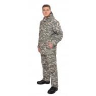 Мужской противоэнцефалитный костюм Биостоп ® - Оптимум, цвет - зеленый камуфляж