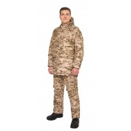 Мужской противоэнцефалитный костюм Биостоп ® - Оптимум, цвет - песочный камуфляж