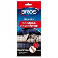 Bros (Брос) клеевая ловушка-домик для отлова одежной моли с феромоном, 1 шт