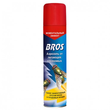 Bros (Брос) аэрозоль от мух, моли, мушек (от летающих), 250 мл