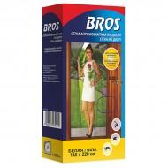 Bros (Брос) сетка для дверей, белая 140x220 см, 1 шт