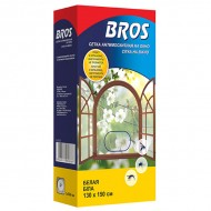Bros (Брос) сетка для окон, белая 130x150 см, 1 шт