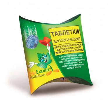 Средство BioExpert для септиков, канализации и выгребных ям, 1 таблетка