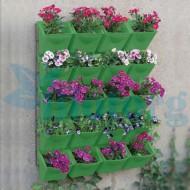 Вертикальный цветочный сад
