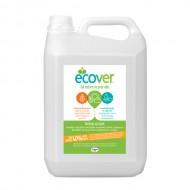 Экологическая жидкость для мытья посуды c лимоном и алоэ-вера Ecover Эковер, 5 л