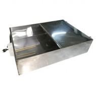 Бак для душа с подогревом 80 л нержавеющая сталь AISI 430