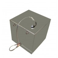 Водонагреватель бак для воды наливной 125 л с душевой лейкой и шлангом