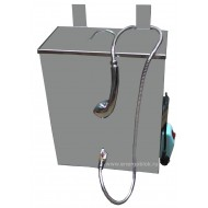 Водонагреватель бак наливной с нагревателем Успех 40 л (нержавейка) с душем