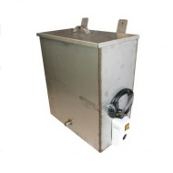Водонагреватель бак наливной с нагревателем Успех 40(41) л (зеркальная нержавейка)