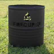 Костровая бочка с вашим логотипом от FireCup