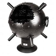 Костровой очаг в форме сферы Морская мина