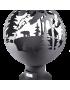 """Костровая чаша """"Тайга"""" в форме сферы от FireCup"""