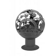 Костровая чаша cфера Тоскана, d-850мм