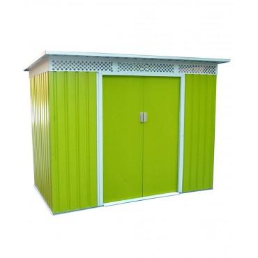 Сарай «Белла» C Greenstorage 330х117х184 (светло-зеленый с беж. кантом)
