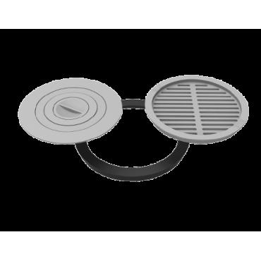 Комплект 440 (плита+решётка-гриль)