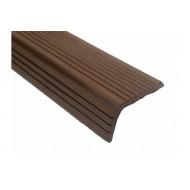 Уголок из ДПК для террасной доски Holzhof (коричневый, 30х70х3000мм)