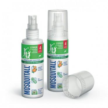 Спрей от комаров Москитолл (репеллент)