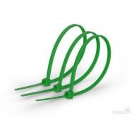 Хомут пластиковый Х 3-100 (зеленый)