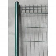 Заборный столб с заглушкой