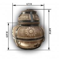 """Тандыр """"Гулливер"""", дровяной (высота 85см, диаметр 72см)"""