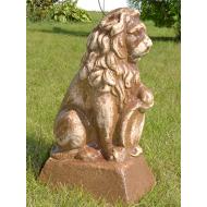 Керамический лев