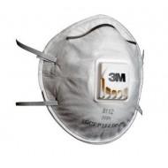 Респиратор полумаска противоаэрозольная фильтрующая 3M 8112, FFP1, с клапаном выдоха, 10 шт./уп.