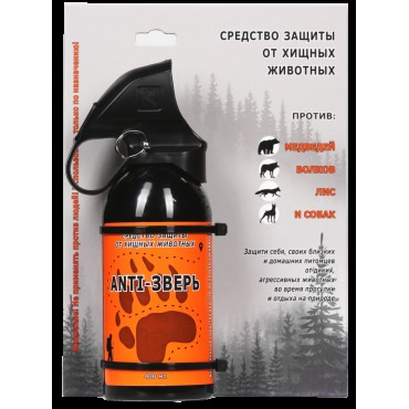 Средство ANTI-Зверь, 400 мл для защиты от медведей, волков и собак