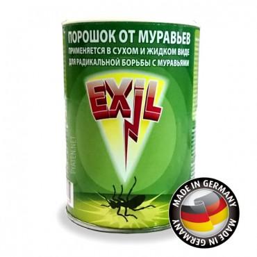 Порошок (Exil) для 100% уничтожения садовых муравьев на грядках, в саду