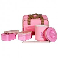 Ланч-набор Tiger LWY-F036 Pink