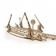 Механическая модель Переезд и рельсы от Ugears
