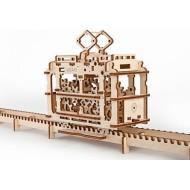 Механическая модель Трамвай от Ugears