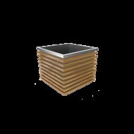 Садовая клумба Decore S (сталь, дерево)