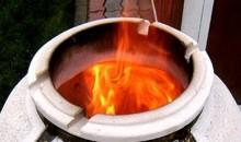 Как растопить узбекскую печь-тандыр?